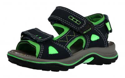IMAC Kinder Sandale blau/grün (Blau) 1042014