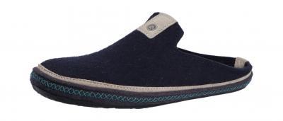 Haflinger Herren Pantolette/Hausschuh Everest Ontario mittelblau (Blau) 481066-70