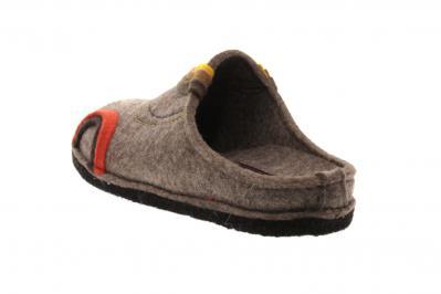 Haflinger Damen Pantolette/Hausschuh Flair Baikal torf (Beige) 313078-550