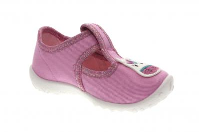 Superfit Kinder Hausschuh Spotty ROSA (Pink) 0-609256-5500