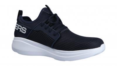 Skechers Herren Halbschuh/Sneaker Go Run Fast Navy (Blau) 55103 NVY