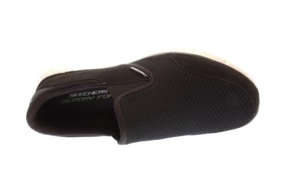 Skechers Herren Sneaker black/white (Schwarz) 51361 BKW