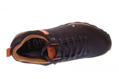 CMP Herren Halbschuh/Schnürer Elettra Low WP BLACK BLUE (Schwarz) 38Q4617 N950
