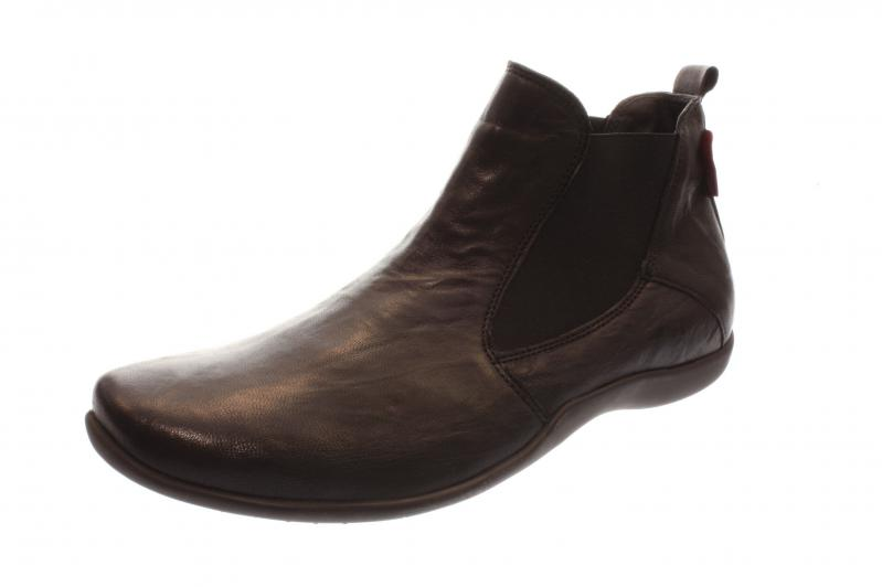 Think Schuhe STONE schwarz Herrenstiefelette elegante Stiefeletten 3-83616-09