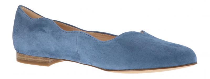 Caprice Damen Ballerina BLUE SUEDE 9-9-24201-24//818 Blau