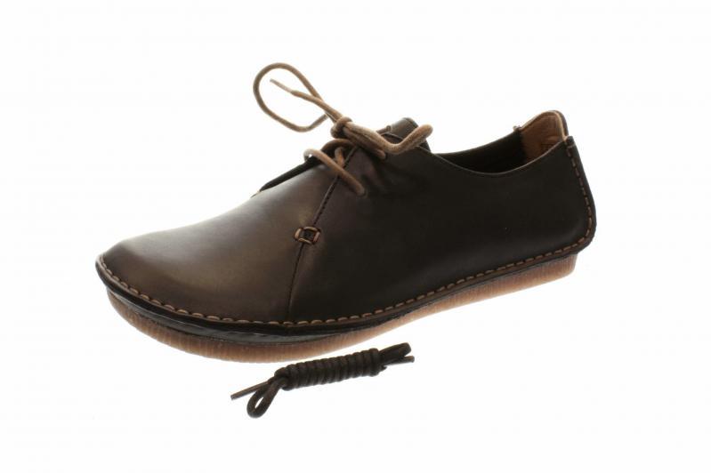 Details zu Clarks Schuhe JANEY MAE braun Damenschuhe bequeme Schnür Halbschuhe 26112617 4