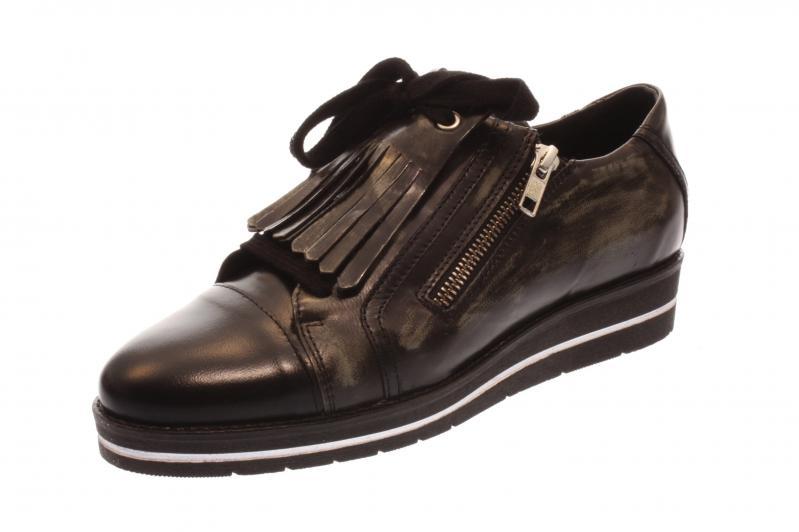 Maca Kitzbühel Damen 2190 Halbschuh/Sneaker brush nero/ Gris (Schwarz) 2190 Damen •  Zapatos f4e2c0