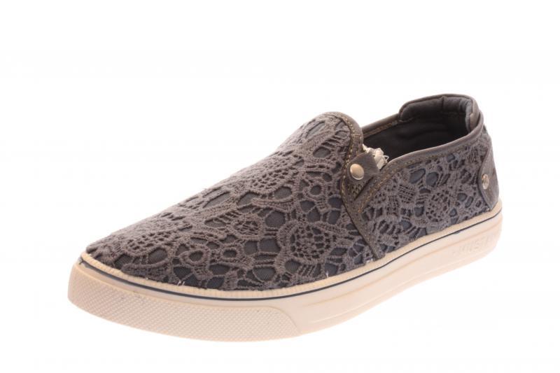 mustang damen halbschuh sneaker slipper sky blau 1217404. Black Bedroom Furniture Sets. Home Design Ideas