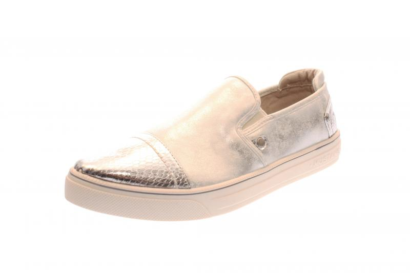 mustang damen halbschuh sneaker slipper silber 1217405. Black Bedroom Furniture Sets. Home Design Ideas
