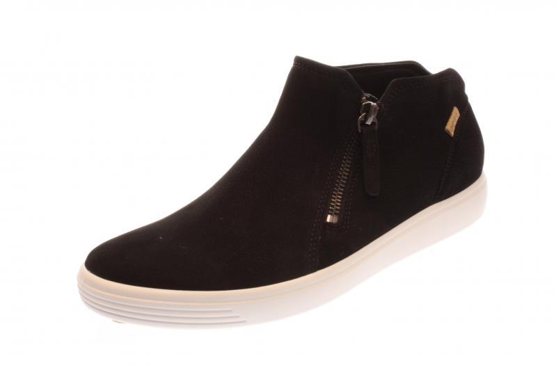 Ecco Damen HalbschuhSneakerStiefelette Soft 7 blackpowder