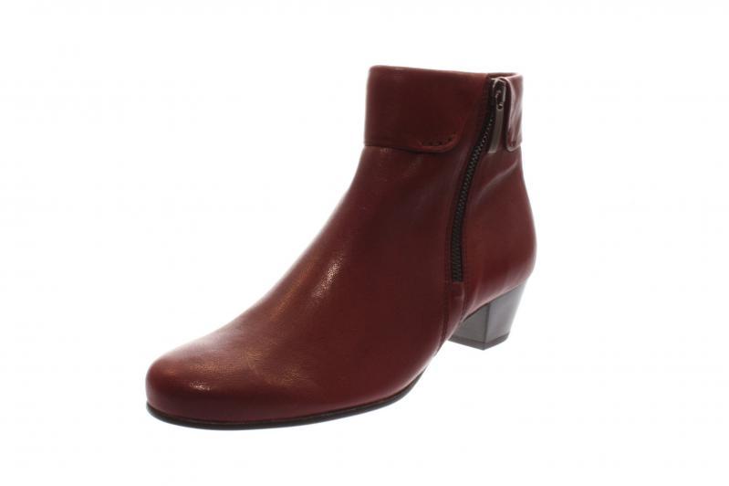Details about Gabor Damen Stiefelette dark red (Micro) (Rot) 96.073.28