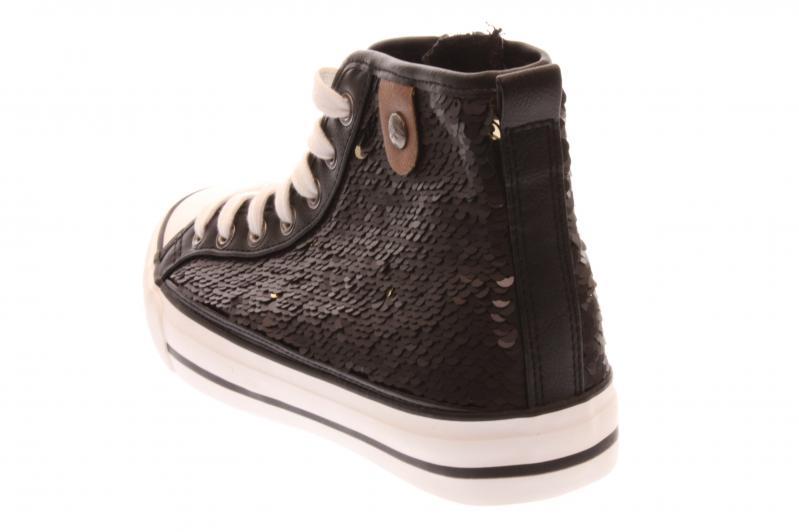 fritzi aus preu en damen sneaker stiefelette black. Black Bedroom Furniture Sets. Home Design Ideas