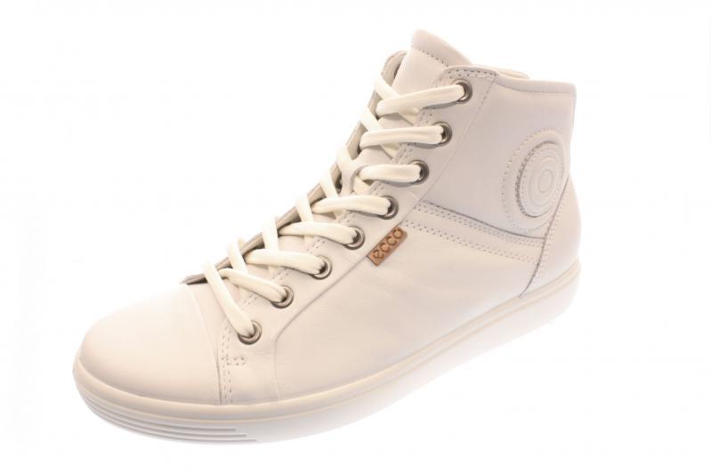 low priced 00039 1fe14 Ecco Damen Halbschuh/Schnürer/Sneaker WHITE (Weiß) 430023/01007