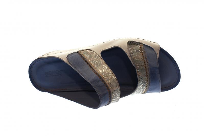 Gemini Damen Pantolette/Hausschuh Weiß/Hellblau (Blau) 32140-19 180 Günstig Kaufen Die Besten Preise ioM03Ensv