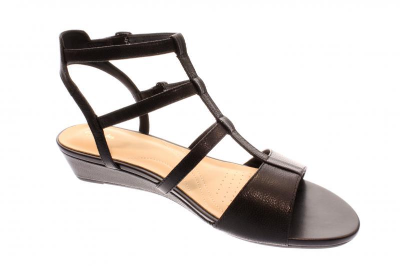 Sandalen CLARKS - Parram Spice 261339284 Black Nubuck mDMA5iDU