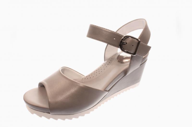 d38b8a0dc51ec Gerry Weber Damen Sandale Sandalette Florentine 01 GRAU G1640130 710 ...
