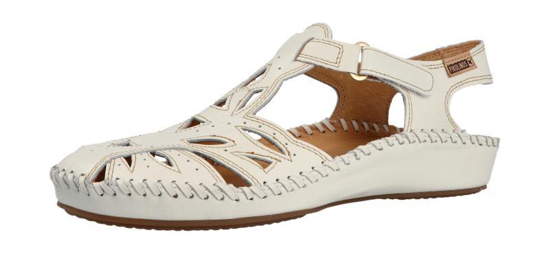pikolinos damen sandale nata wei 655 8312l. Black Bedroom Furniture Sets. Home Design Ideas