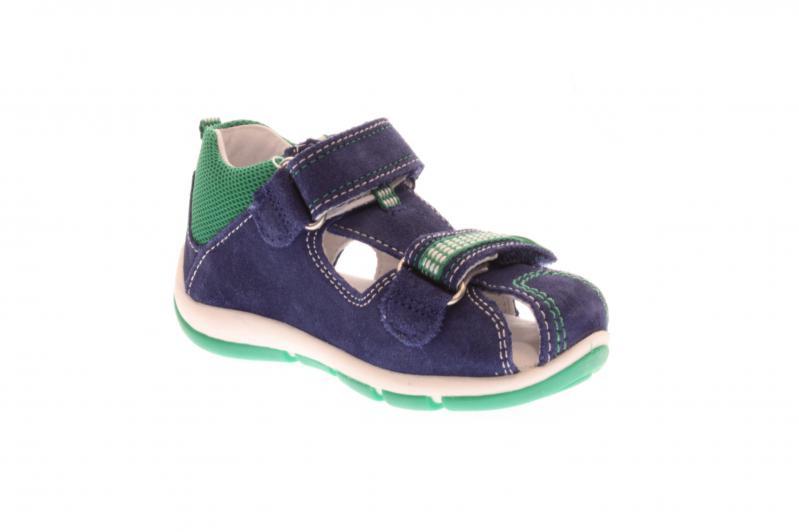Superfit Kinder Sandale Freddy BLAUGRÜN (Blau) 4 00140 82
