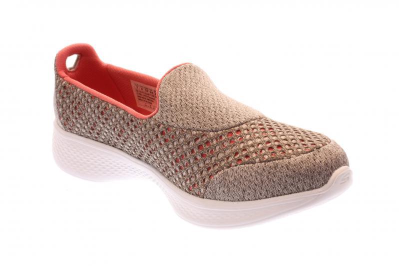 skechers damen sneaker slipper tpcl taupe coral. Black Bedroom Furniture Sets. Home Design Ideas