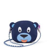 Affenzahn - Kindergeldbörse Geldbeutel Bär Blau AFZ-WAL-001-003