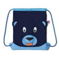 Affenzahn - Kinderrucksack Gymbag Bär Blau AFZ-GYM-001-003