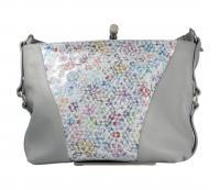 Cintura - MGM - Damentasche/Shopper/Umhängetasche cemento (Grau) BOR 329/145