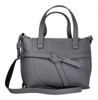 Voi Leather Design - Damentasche/Umhängetasche Harley steel (Grau) 22029 steel
