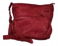 Voi Leather Design - Damentasche/Umhängetasche Beutel rot 21218 ROT
