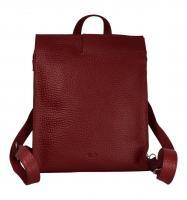 Voi Leather Design - Damentasche/Rucksack Jolie granat (Rot) 22011granat