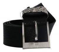 Cintura - MGM - Damengürtel 40mm schwarz 8696/40/3610