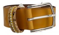 Cintura - MGM - Damengürtel senape (Gelb) 8694/35/2372