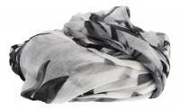 Cintura - MGM - Schal/Tuch Schal mit Blüten grau FL 503-2